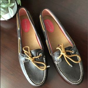 SPERRY LEATHER Top Sider Boat Shoes NWOT 9